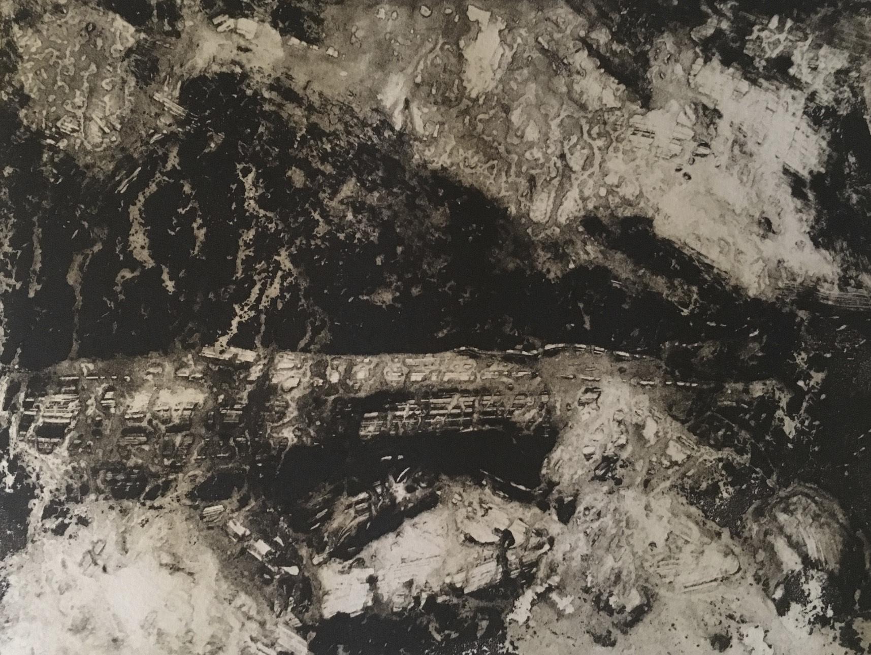 Geraldine van Heemstra - Hebridean Sequence, Series I # 1, 2018, Monotype, 15 x 20 cm.jpg