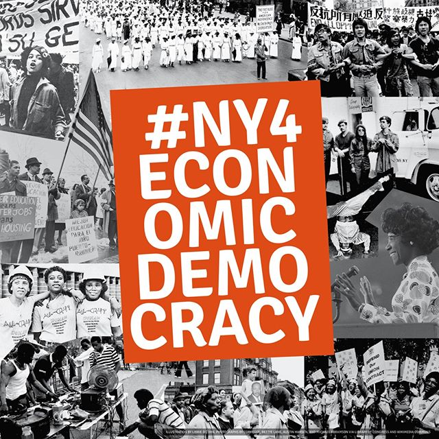 How can we build an economy that works for New Yorkers of color? Share YOUR testimony by posting a photo or video to #NY4EconomicDemocracy by November 20th, and join us at the New York City Hall for the landmark Joint New York City and State Hearing on Economic Democracy! To learn more, visit http://economicdemocracy.nyc