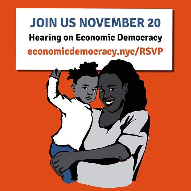 No better time than #ElectionDay and #ElectionNight to think about how can we scale up transformative initiatives for economic and racial justice in New York? Join us Nov 20th to find out. #NY4EconomicDemocracy