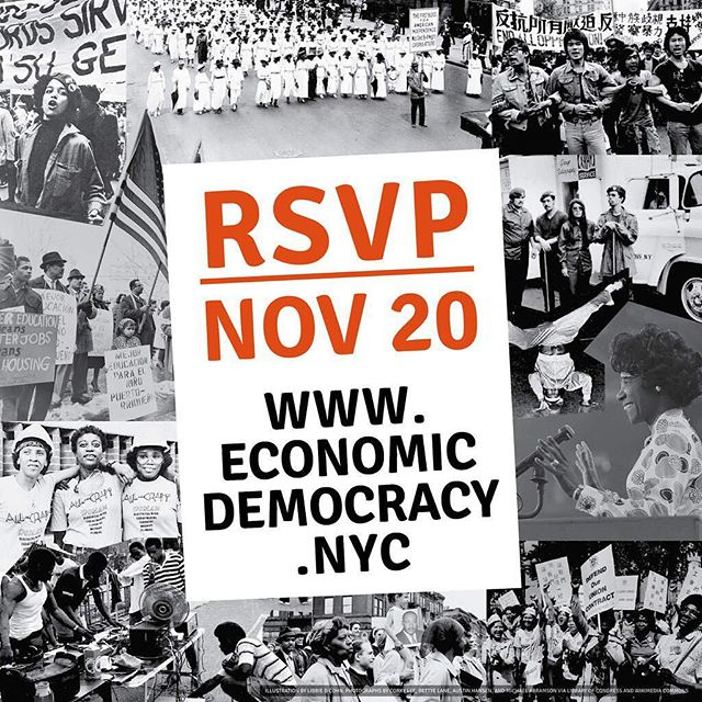 Change only comes when we unite! Join us on November 20th to show our city government that Black and Brown NYers deserve an economy that works for us!  http://economicdemocracy.nyc/RSVP  #NY4EconomicDemocracy #justtransition #PeoplesEconomy #economicdemocracy #SolidarityEconomy