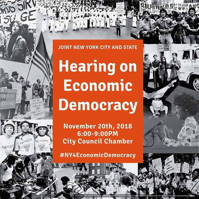 It's time we come together to demand more from our government! If you haven't already, RSVP at economicdemocracy.nyc/RSVP to join us as we tell our leaders how we scale up transformative initiatives for economic and racial justice in New York! #NY4EconomicDemocracy