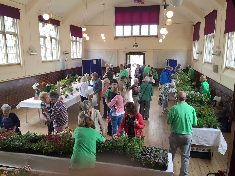 Inside Rossett & Burton Village Hall