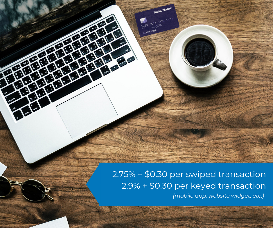 Transparent Fees - In a world of online payments, processing fees can be tricky to understand. That's why we continue to keep it simple. Not only do we have the lowest rates on the market, we also keep it transparent with you. What you see in the image to the right is what you get. This is the industry standard compared to when you pay a friend over PayPal. It doesn't get much better than PayPal when you're processing payments, amiright?