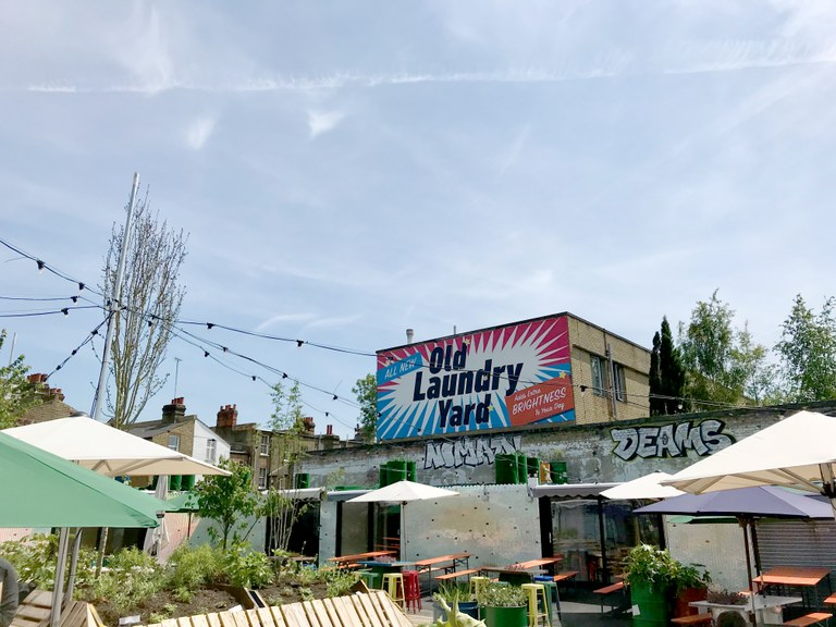 Old Laundry Yard launched earlier this year and is home to a number of food and drink businesses.