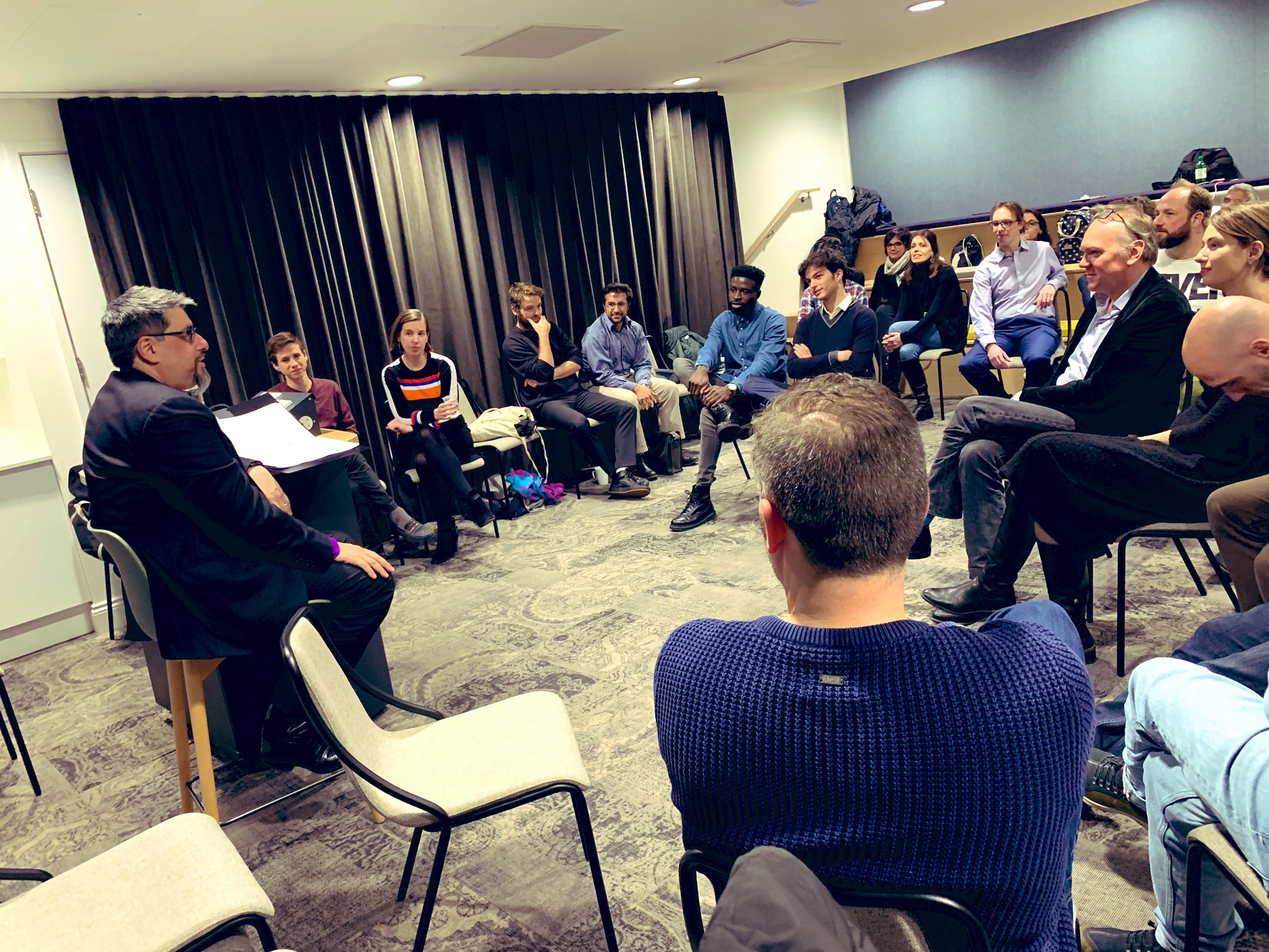 13/03/2019 - Persuasion Masterclass with Bill Liao - SOSV Partner