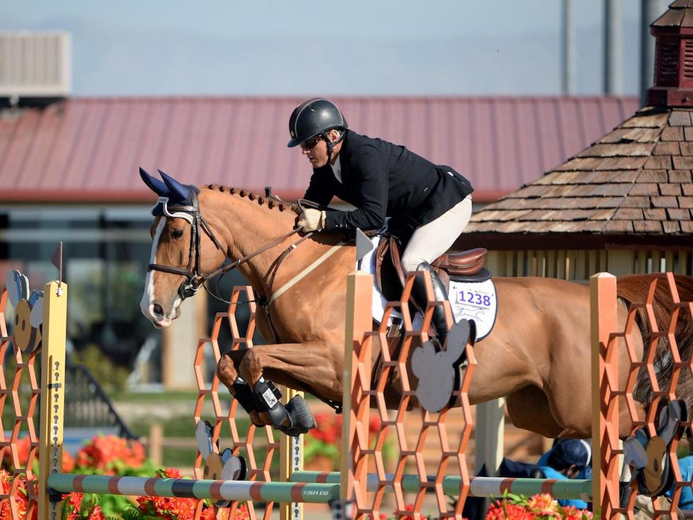 Will Simpson and six-year-old Rumpleteazer DF (by Flexible). Photo by    ESI Photography
