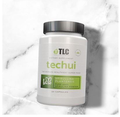 Techui 100% Spirulina -