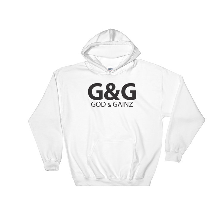 god & gainz Hoodies -