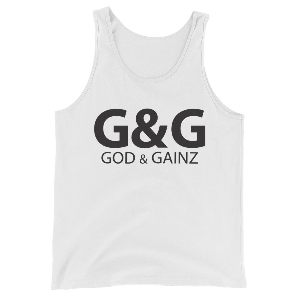 God & Gainz Tanks -