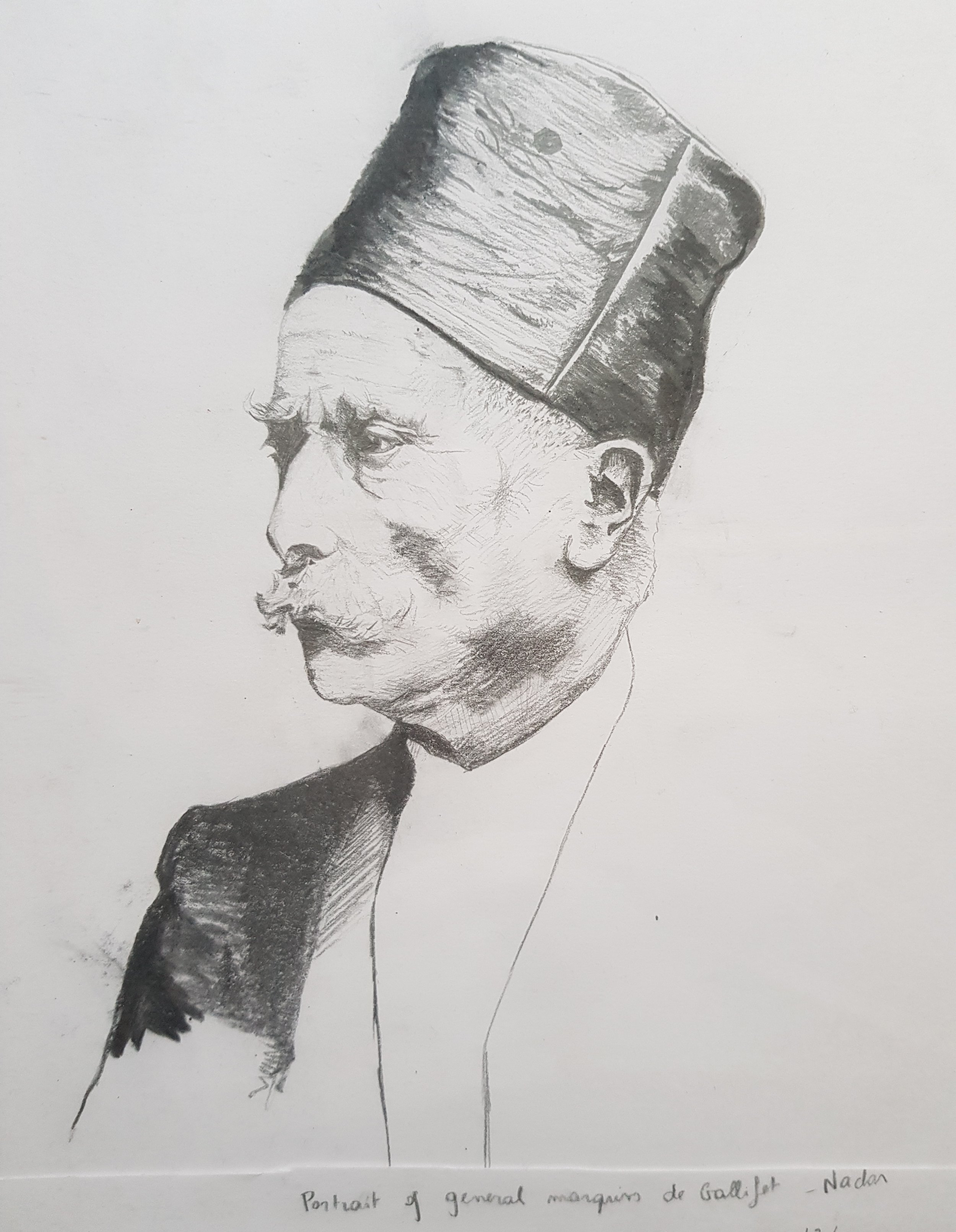 Portrait of the General Marquis of Gallifet, Nadar. March 2018
