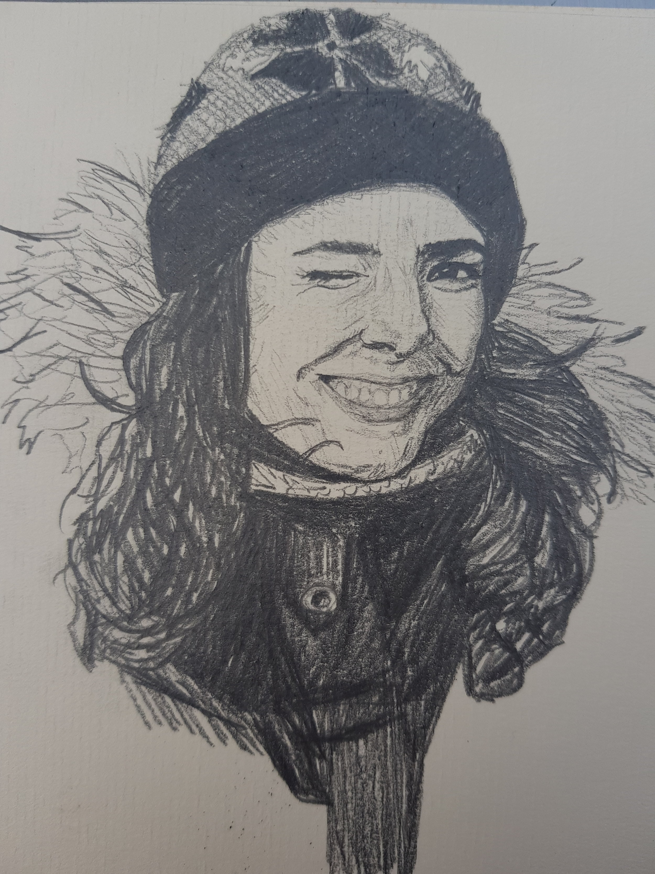 Self sketch ! July 2018