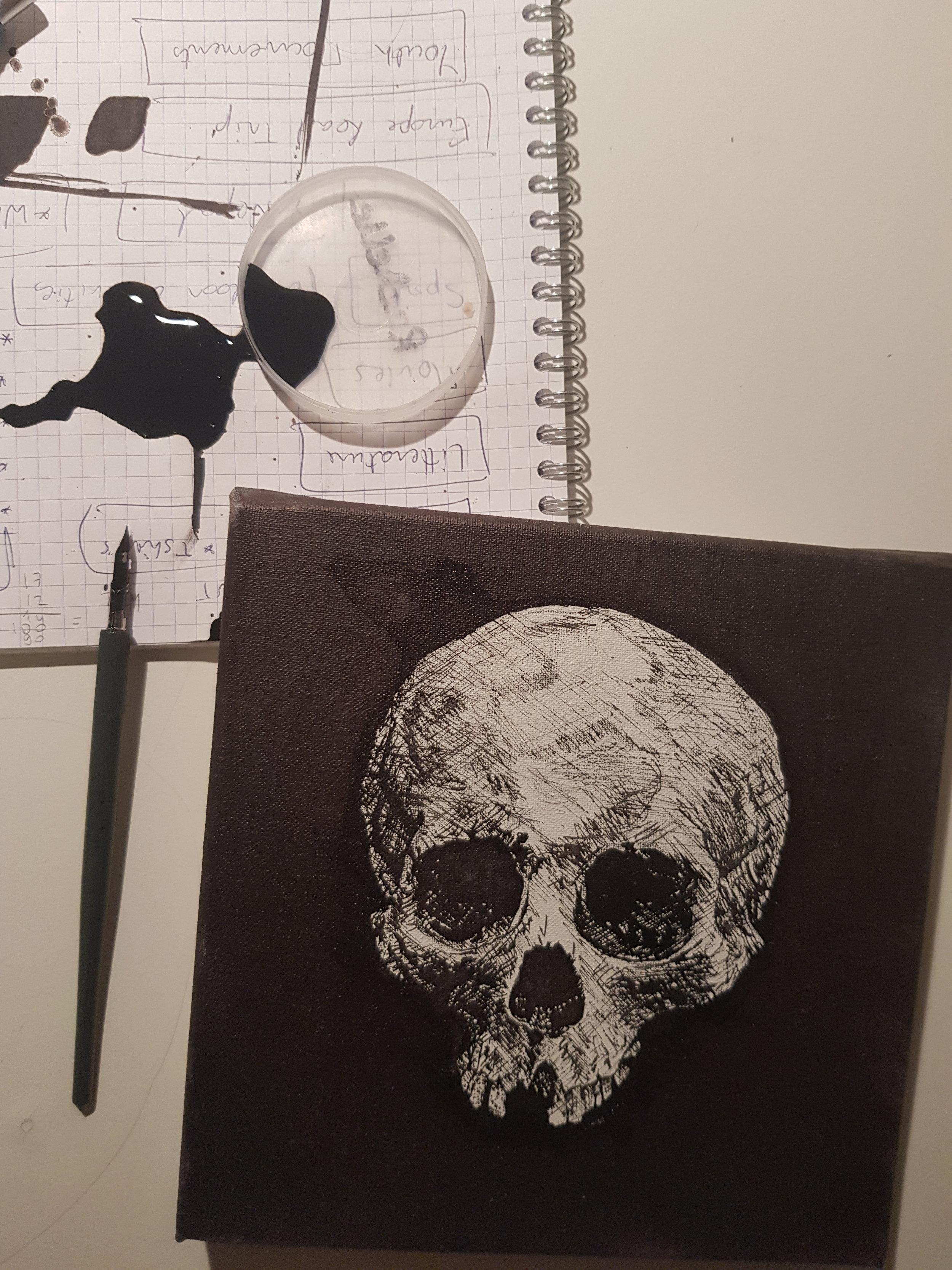 Dead Poetry, October 2018