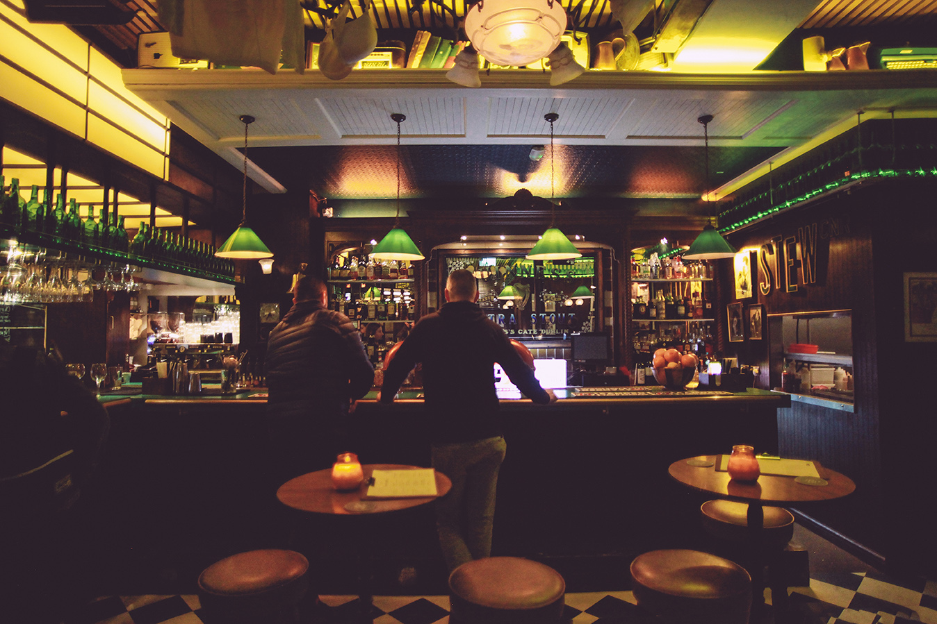 The Corner Boy Irish Bar in Manchester