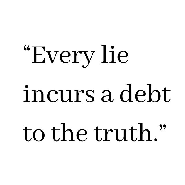 """Every lie we tell incurs a debt to the truth."" . . How do we define the truth? How do we defend it? At some point people must stop telling lies and let the truth pour out. Your truth, our truth, it can set us free. But we have to let it. And the longer we wait, the more our debt grows. . . What are the lies you tell to protect yourself? . . This is a tribute to Valery Legasof, the brilliant scientist who spoke truth to power in a moment when it mattered a great deal, a man who set aside his fear for himself to allay his fear for his people. . . Grateful to  @jaredharris for his beautiful rendering that brought this to life so beautifully for anglophone audiences. Your gifts will be remembered now and forever."