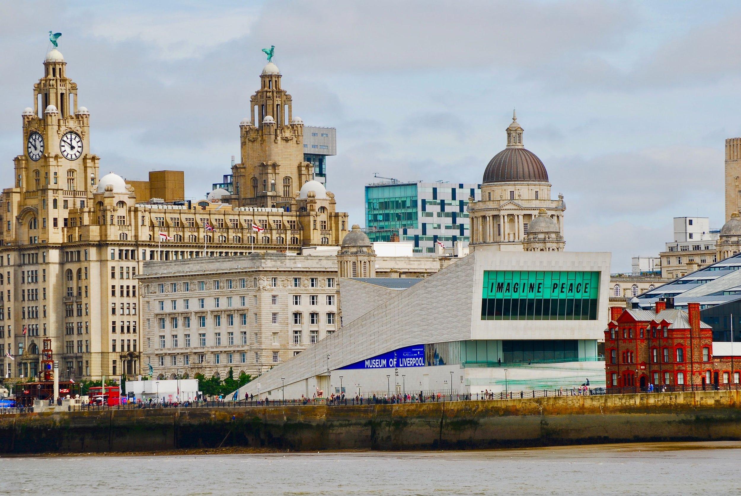 Vy från Liverpool. Foto: Conor Samuel.