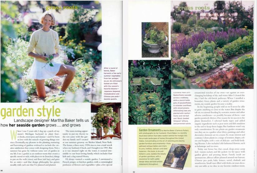 Homestyle Gardening Martha Baker Landscape Design