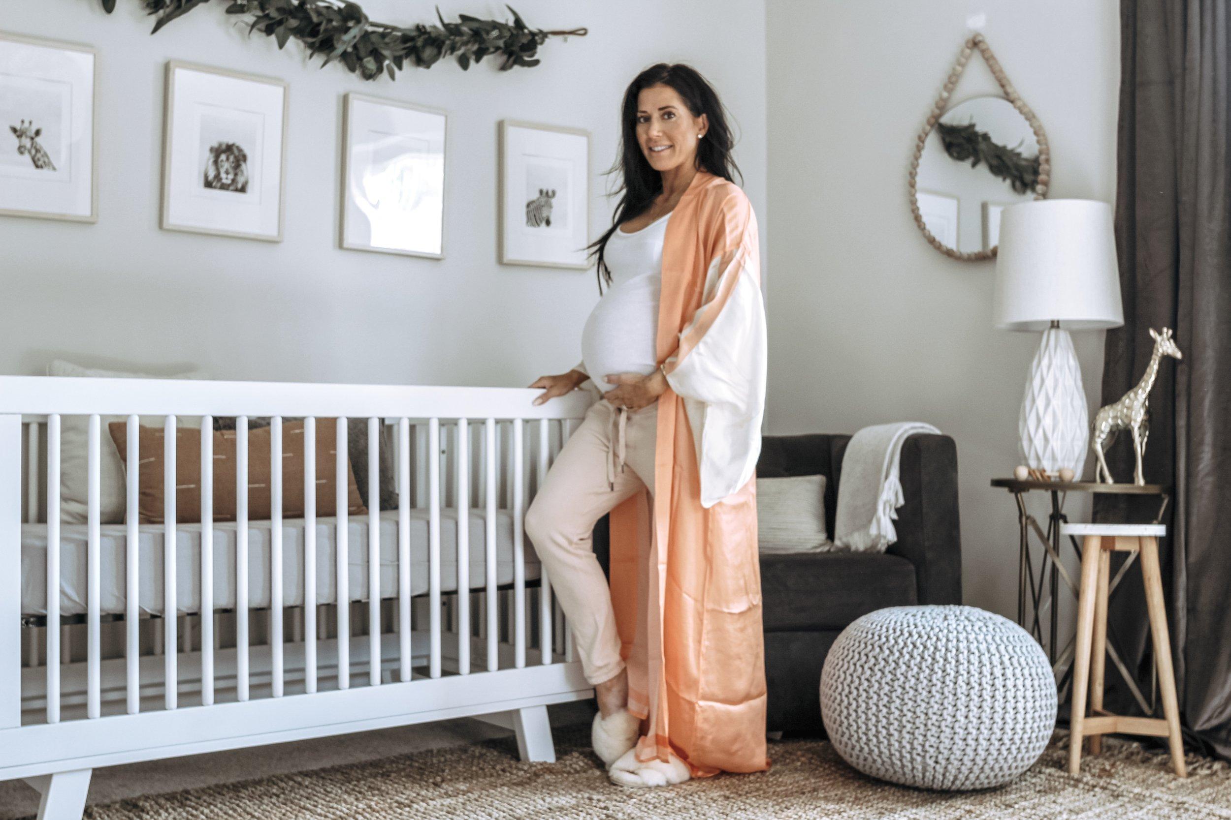 Nursery Reveal - BABY BOY BOHO NEUTRAL NURSERY