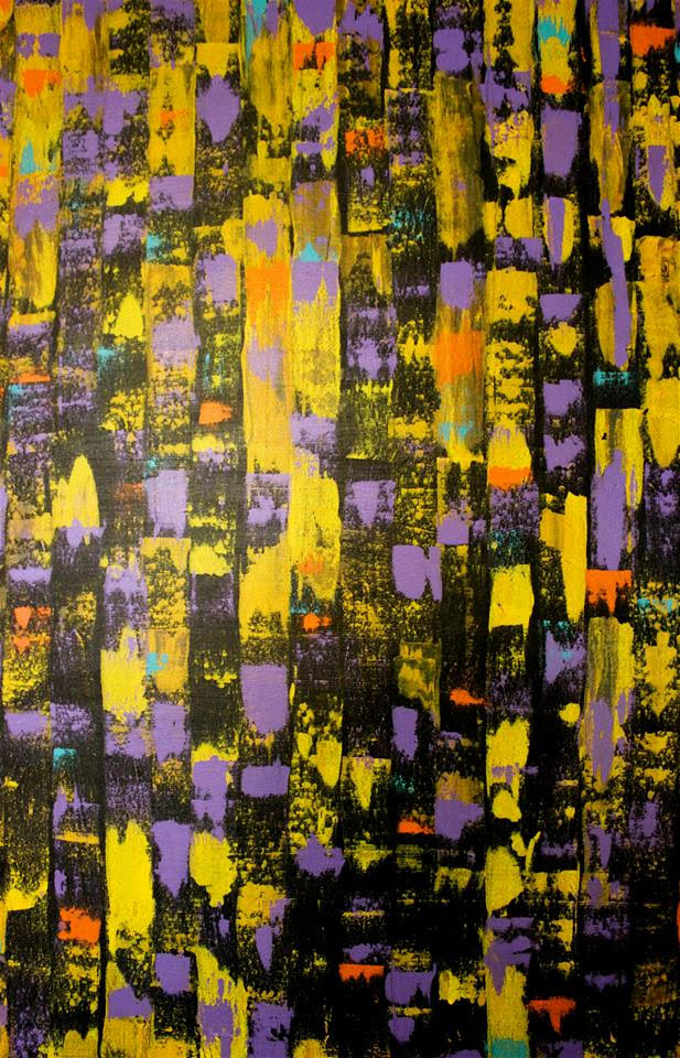 PURPLE ABSTRACTION