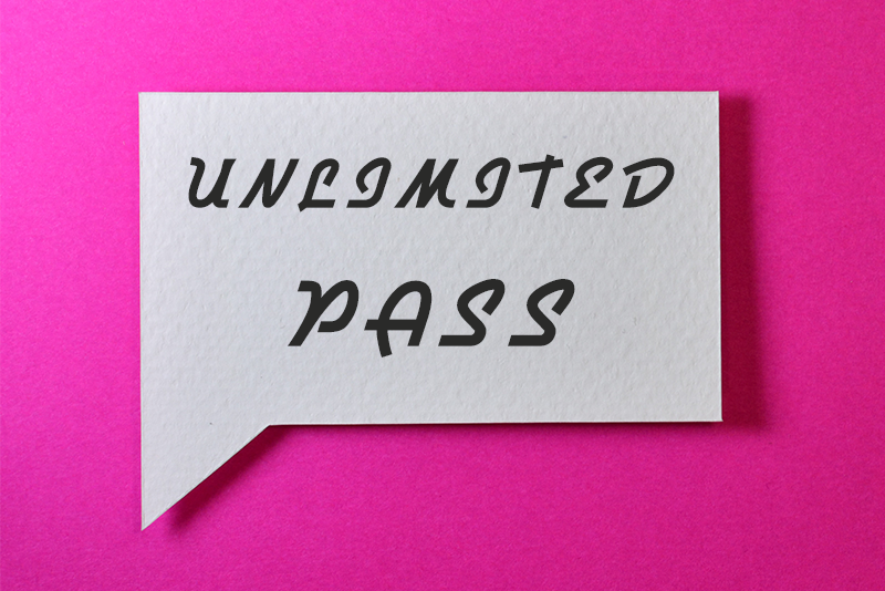 UNLIMITED PASS - $149 -