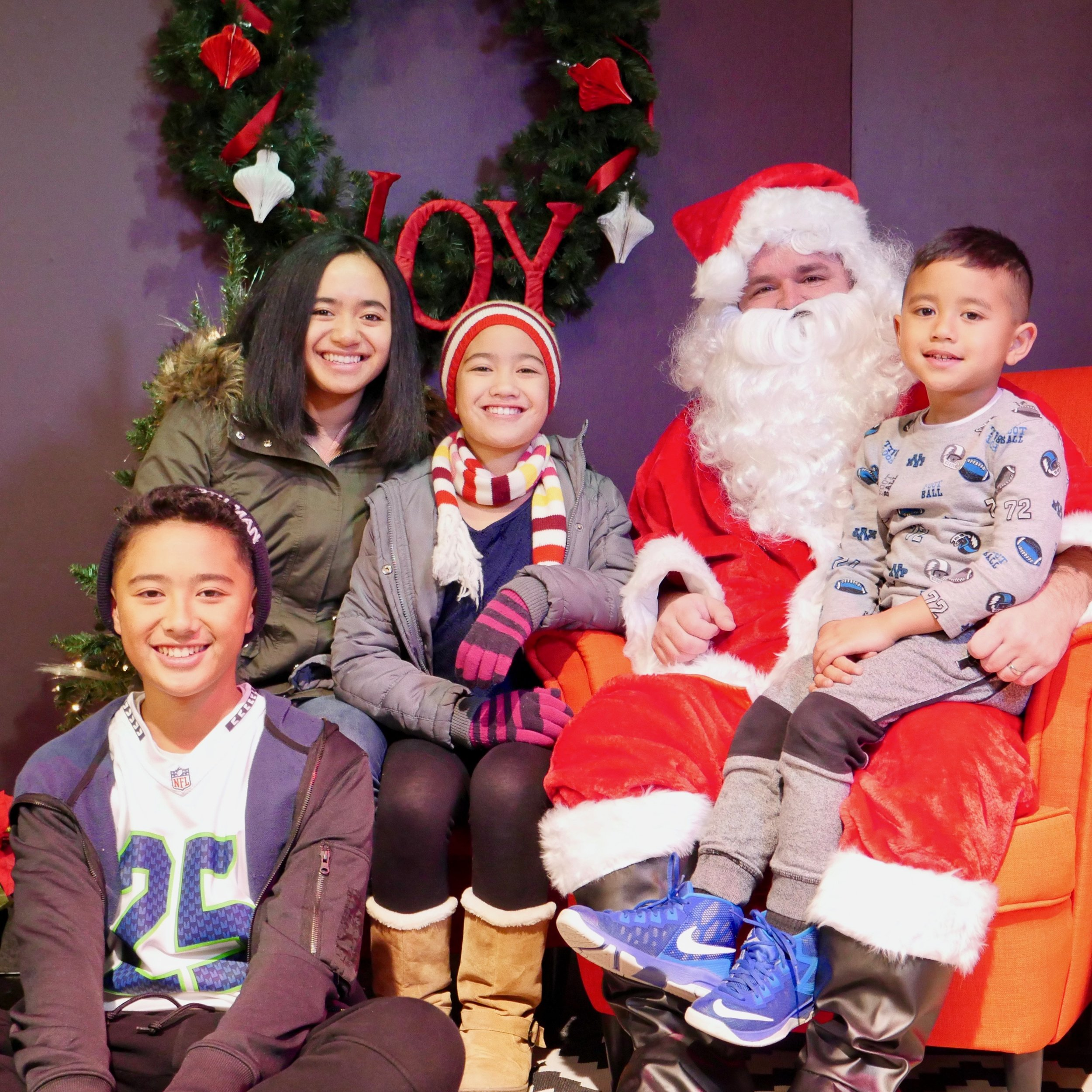 """Pictures with Santa - Get your pictures here!If you'd like to book a session with Sasha Kathryn Photography for another occasion, use the code """"GRACEPOINT"""" FOR 10% off.Merry Christmas!"""