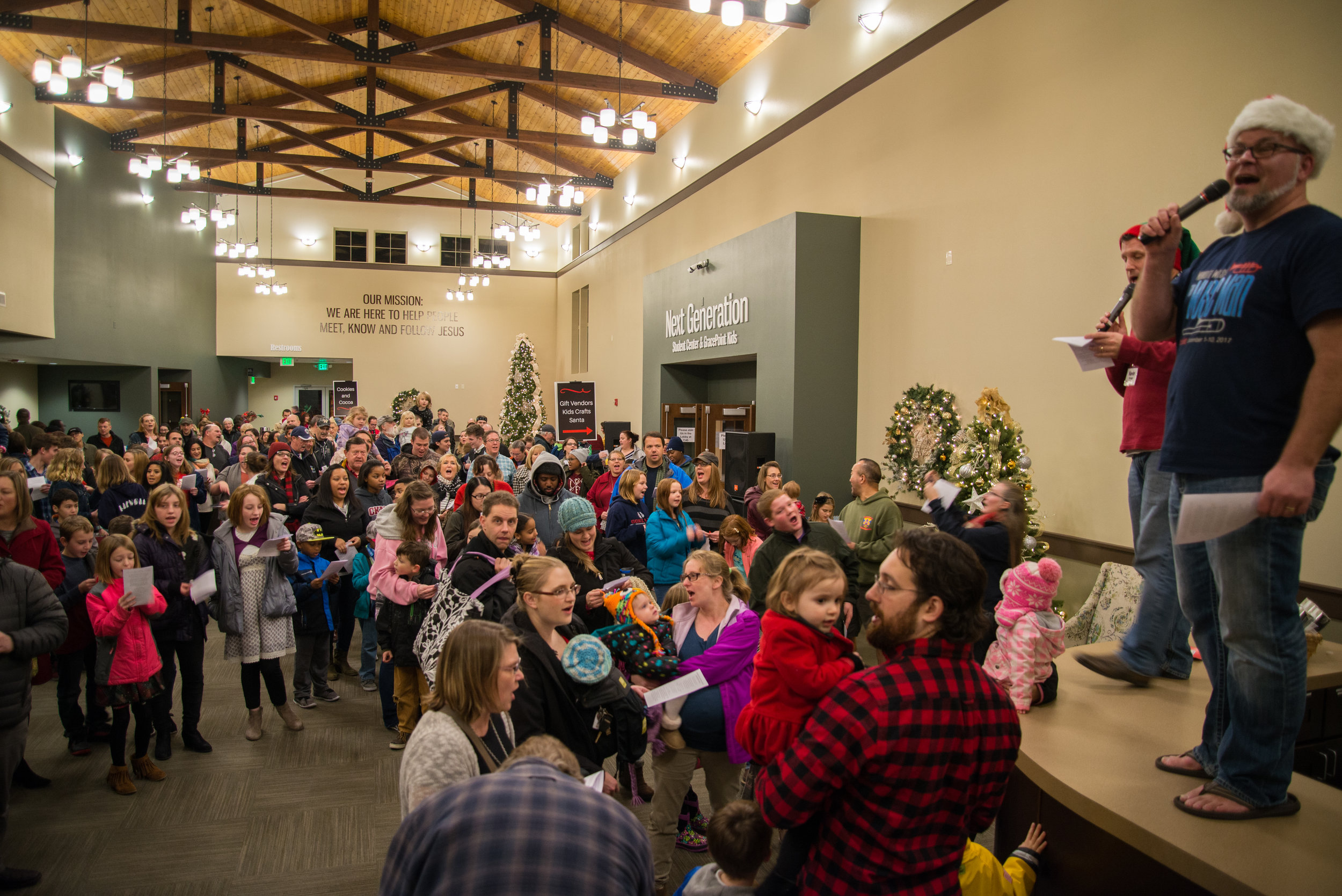 Carols and Lights - Sing some favorites and stroll outside for the tree lighting.