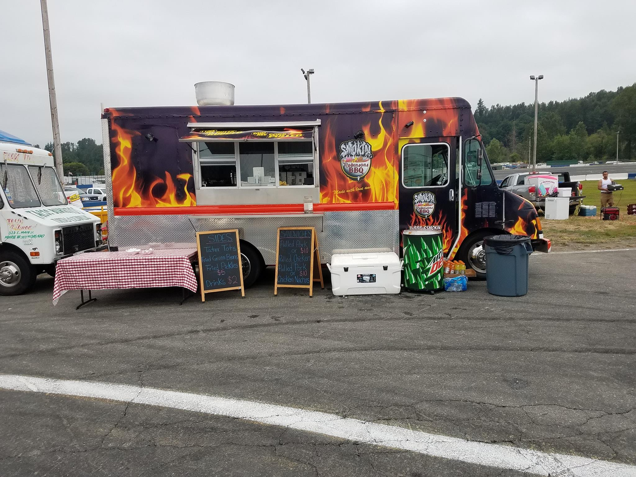 Smokin Robinsons - Delicious BBQ available on campus