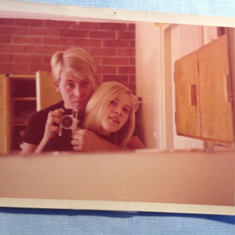 Iskä ja äiti vuonna 1969.