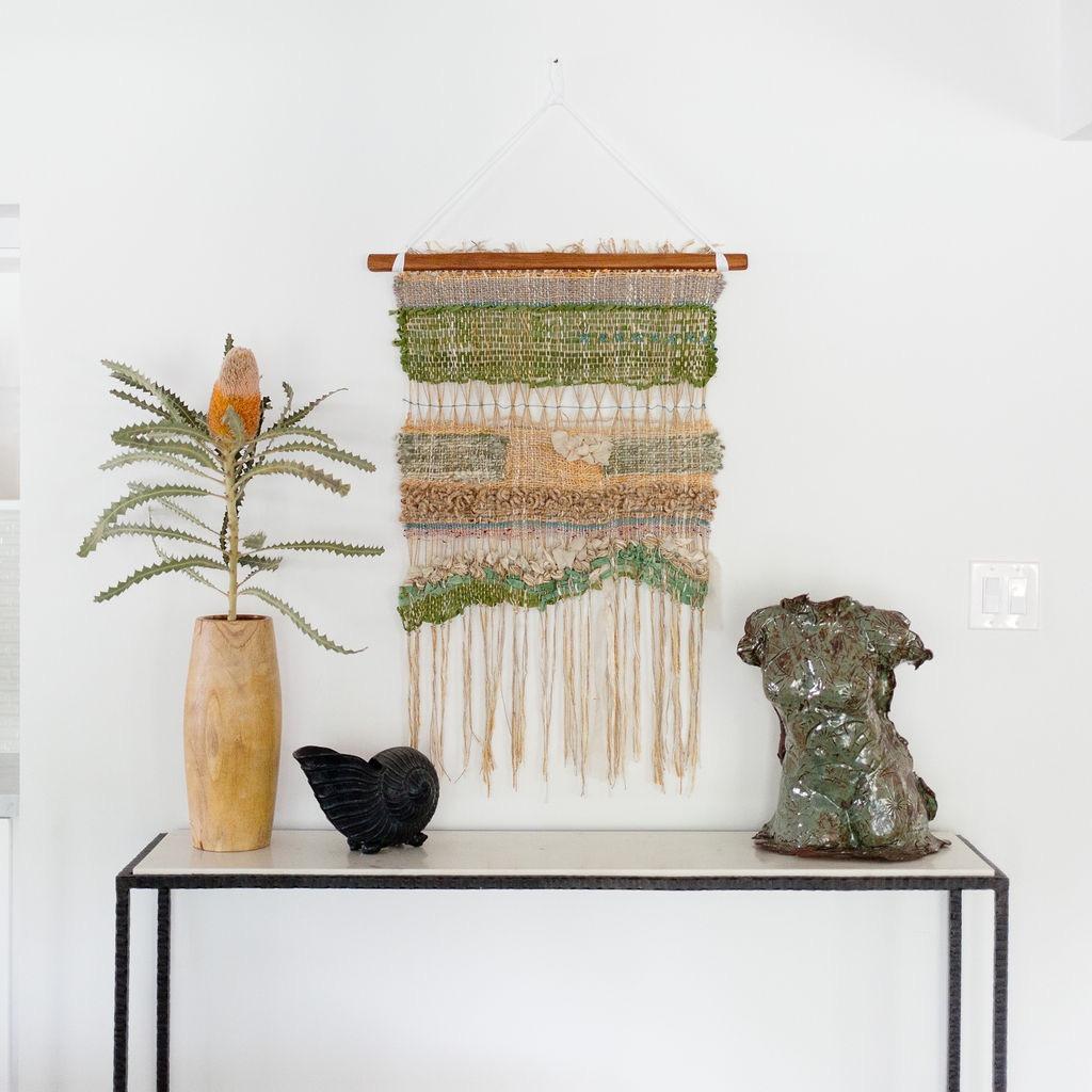 los angeles interior designer casual comfortable weaving