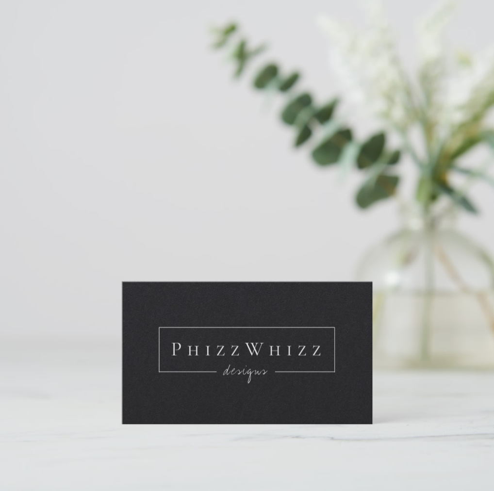 Business Cards — PhizzWhizz Designs