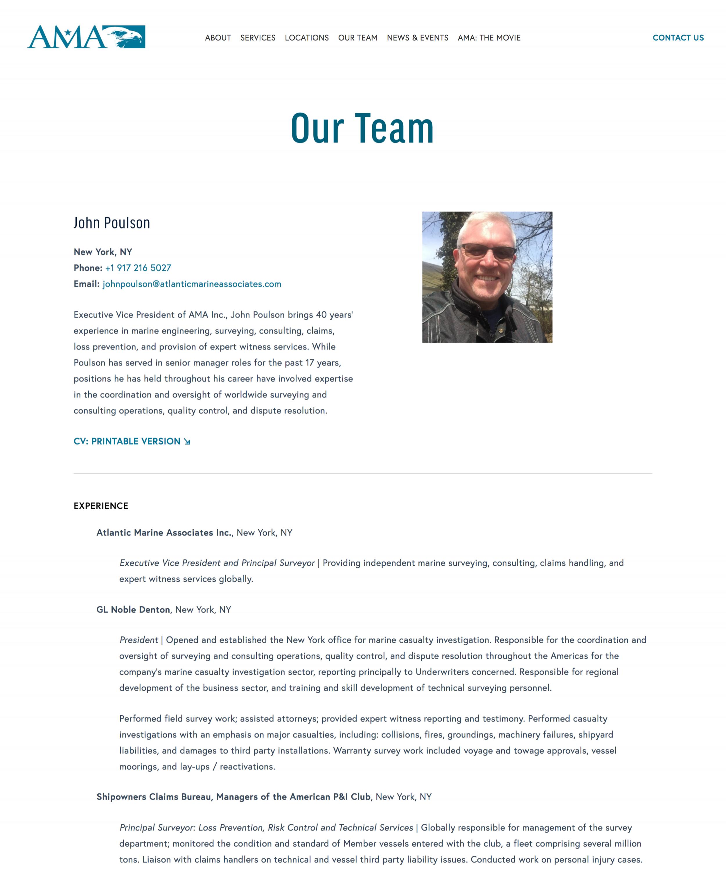 Copyediting — AMA CVs: Web Version