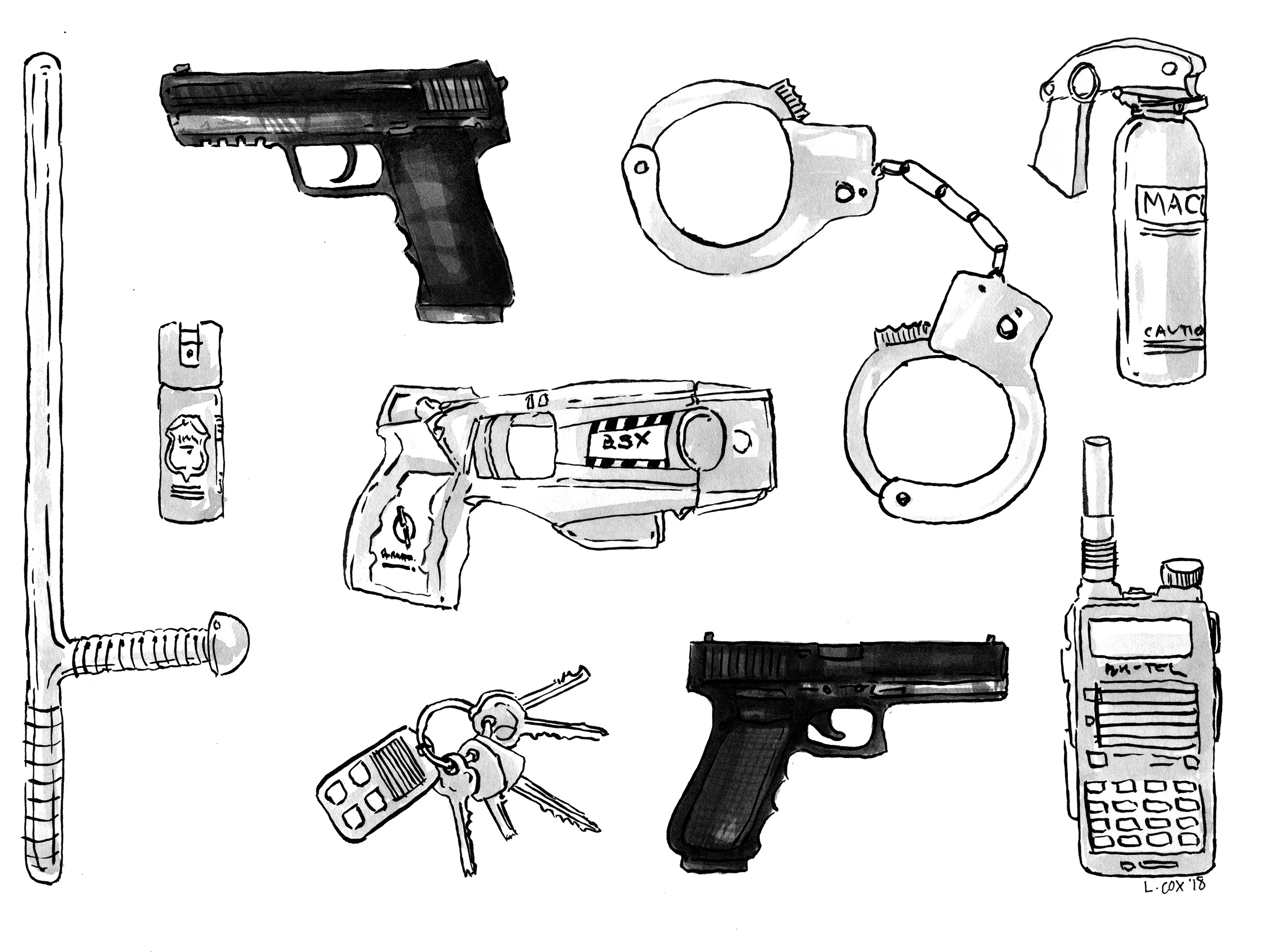 Police Tools for WBEZ Chicago/National Public Radio, Ink 2018