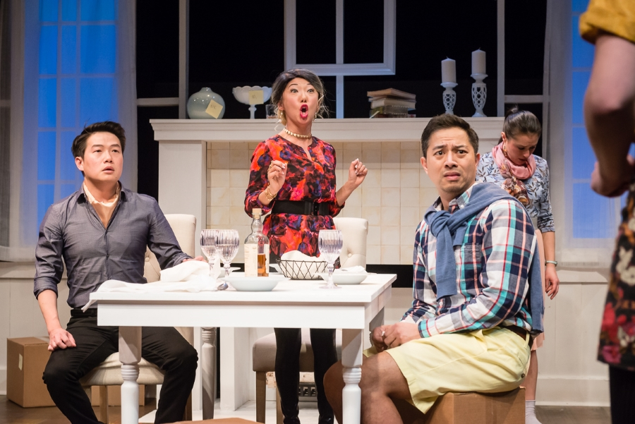 """""""Two Mile Hollow"""" by Leah Nanako Winkler at Theater Mu in 2018. (Photo by Rich Ryan)"""