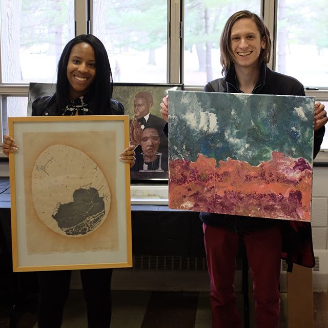 Photo of Borrowers of Art Lending Library—Art Lending Library