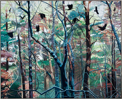 MURDER INCORPORATED, 2010, Acrylic and Oil on Canvas, 71 x 88