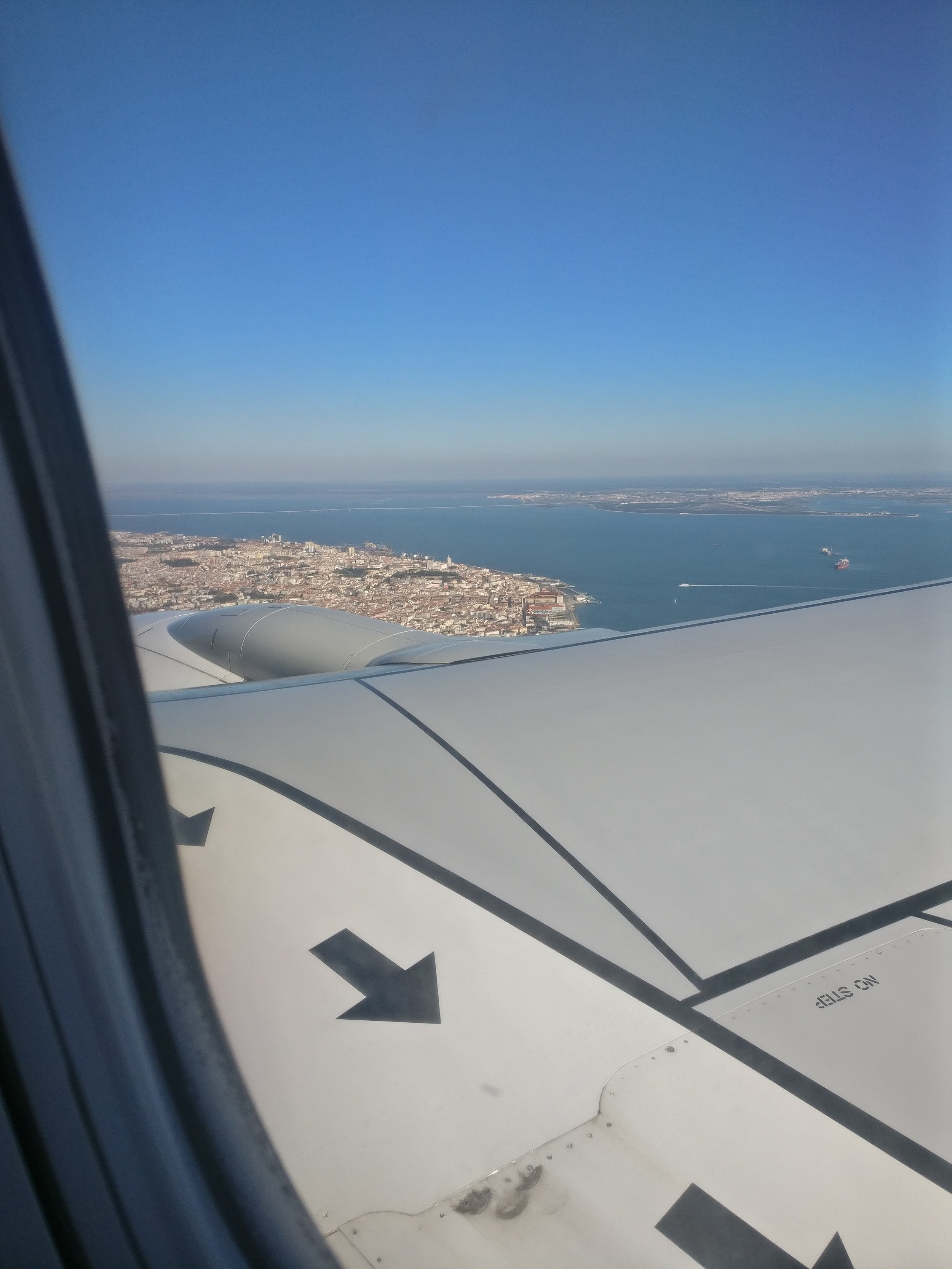 This is what it looks like to arrive in Lisbon in January