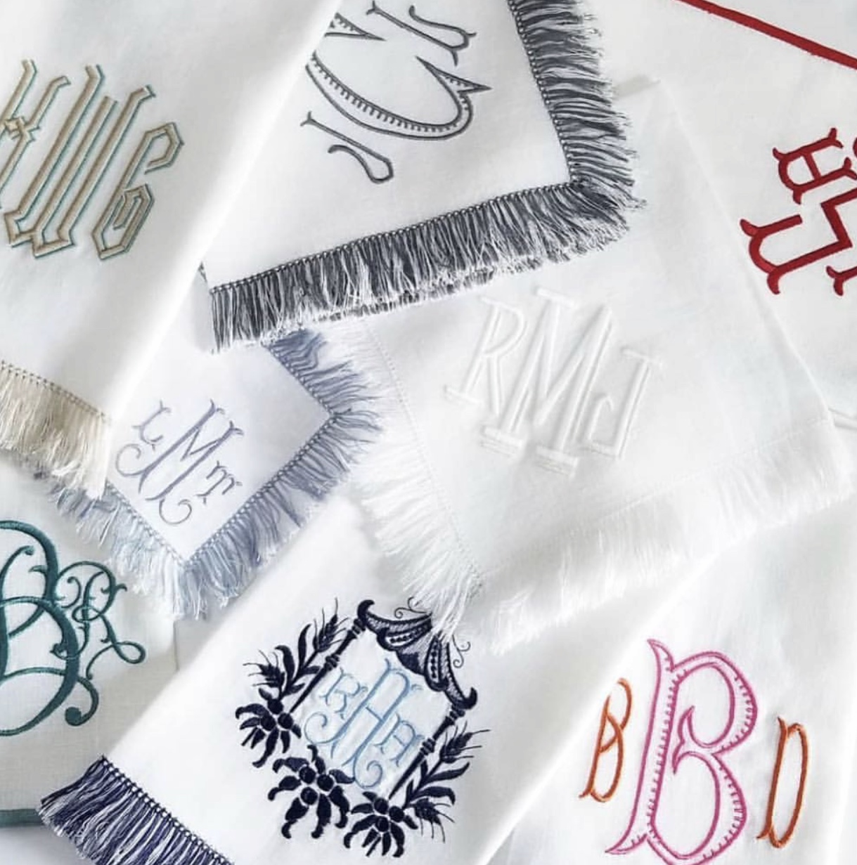 THE MONOGRAMMED HOME -
