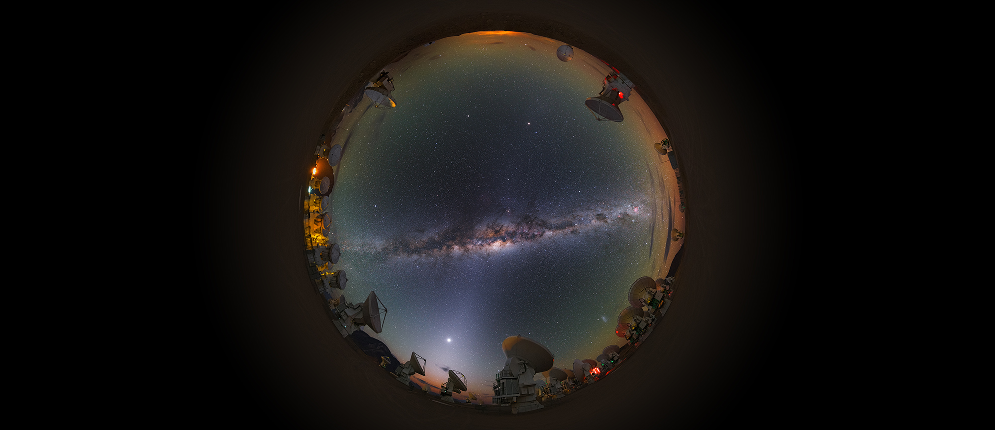 Facing the Milky Way. Credits:  Y. Beletsky (LCO)/ESO