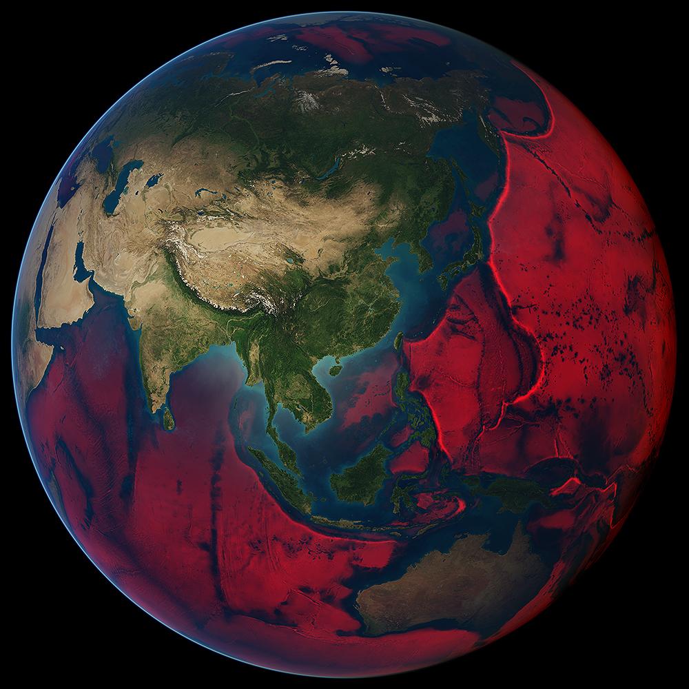 Global Oceanic Floor