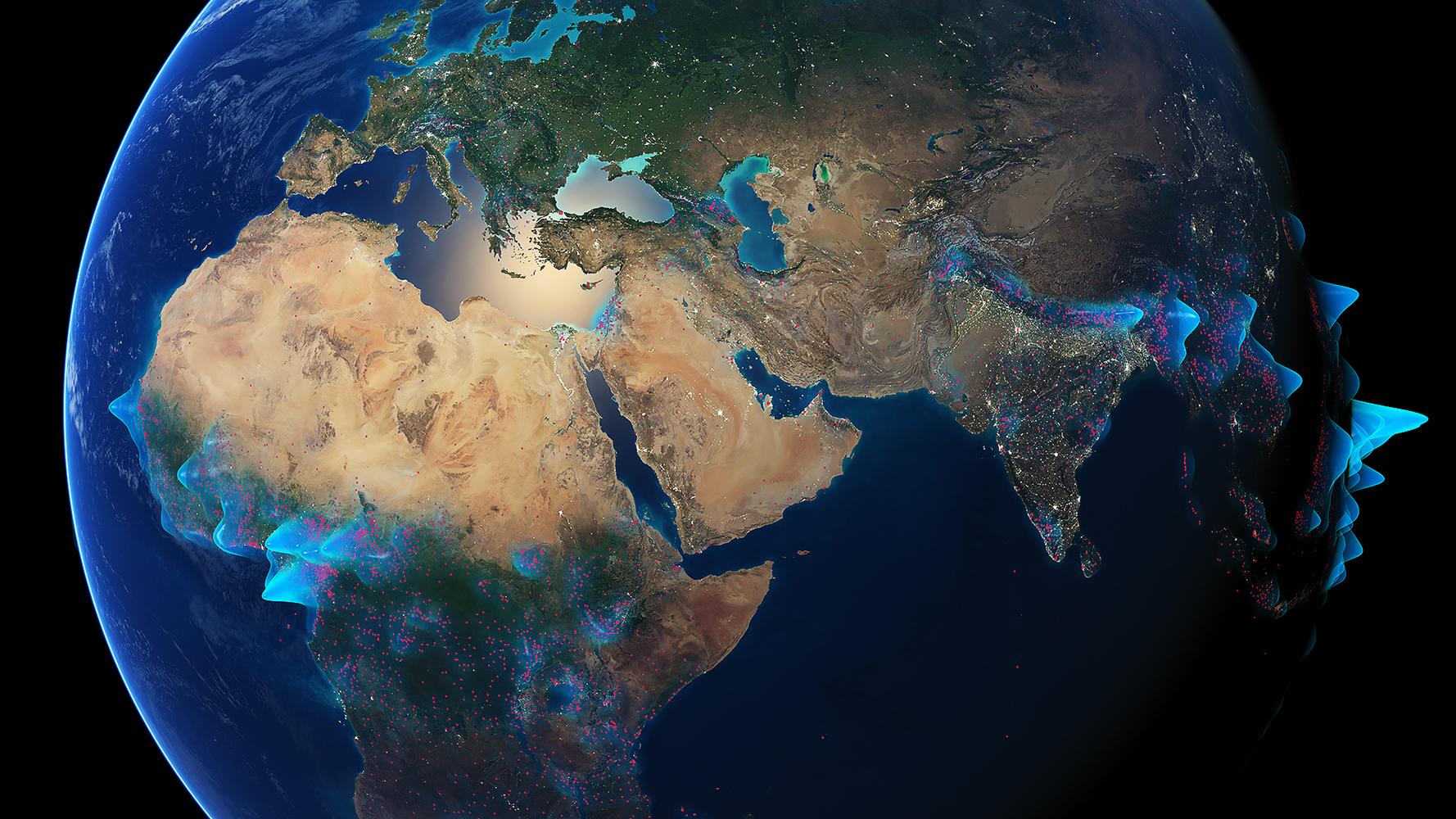 World's Languages Density