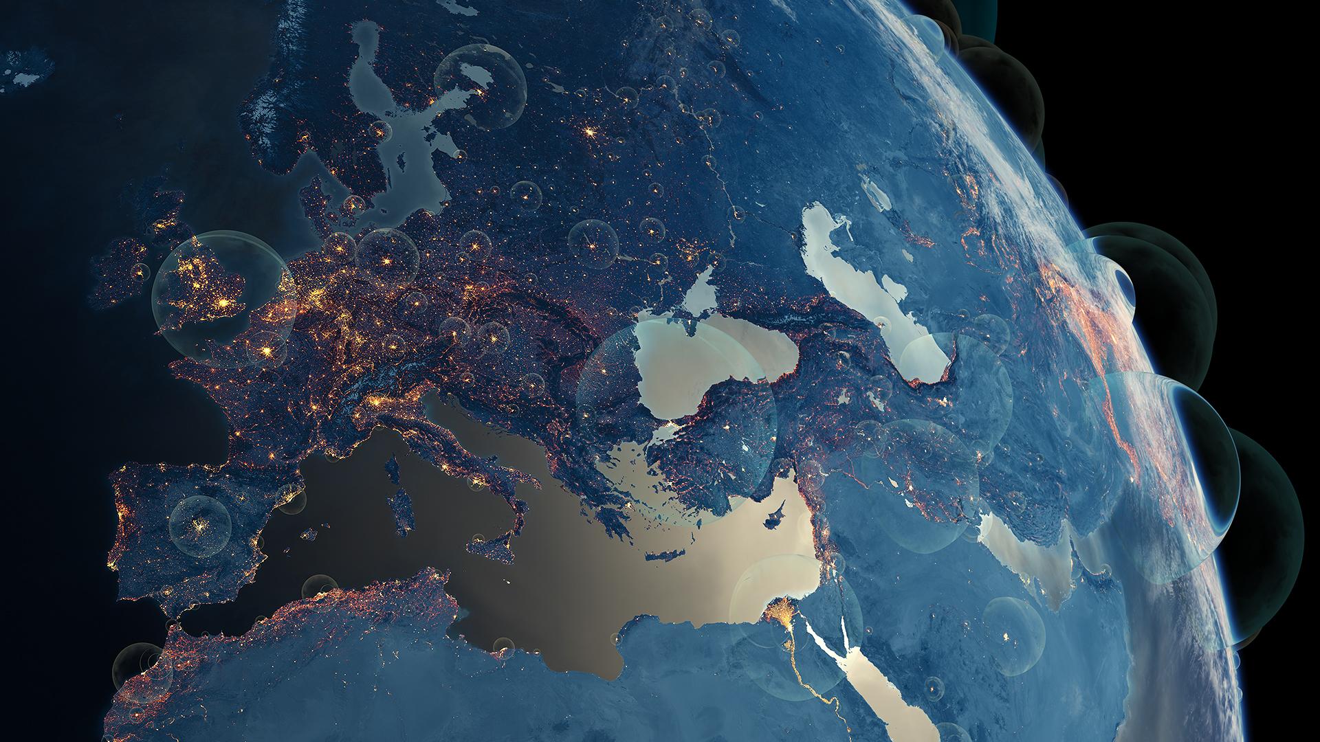 Population bubbles