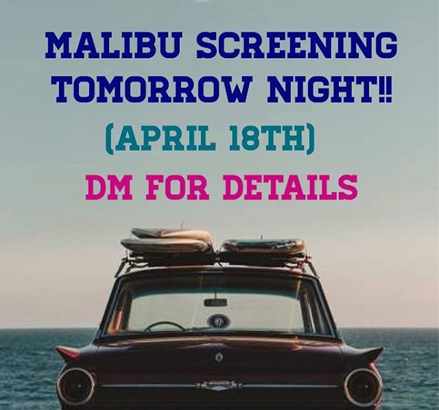 Friends of SoCal, screening tomorrow in Malibu. Gonna be a lovely night! It's a private home screening so shoot me a DM if you'd like to join and I'll give details. Show starts at 7:30pm. Up the pipers!!!!