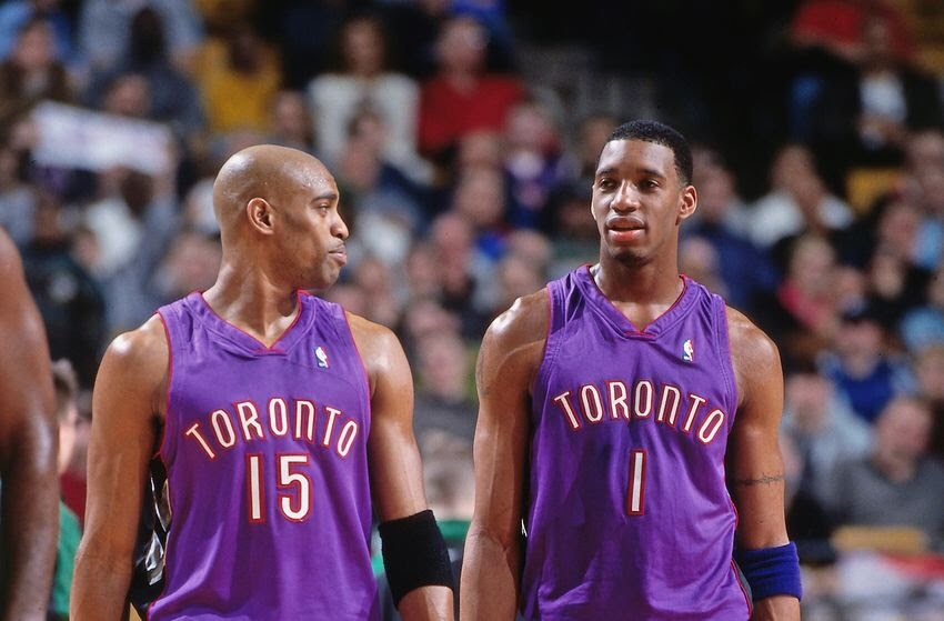 Vince Carter & Tracy McGrady in 2001