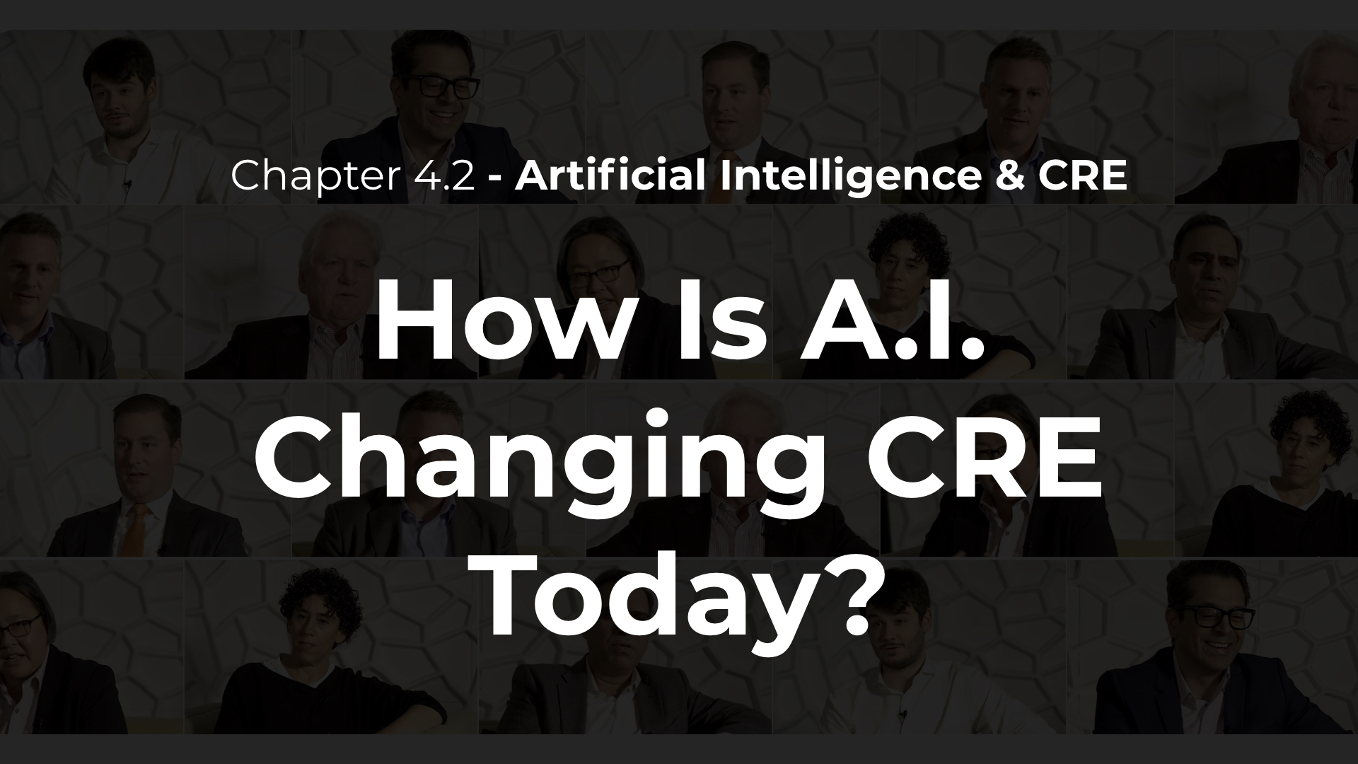 4.2 - How Is AI Changing CRE Today?