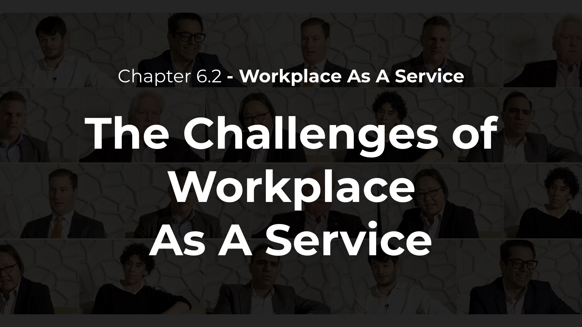 6.2 - The Challenges of Workplace As A Service