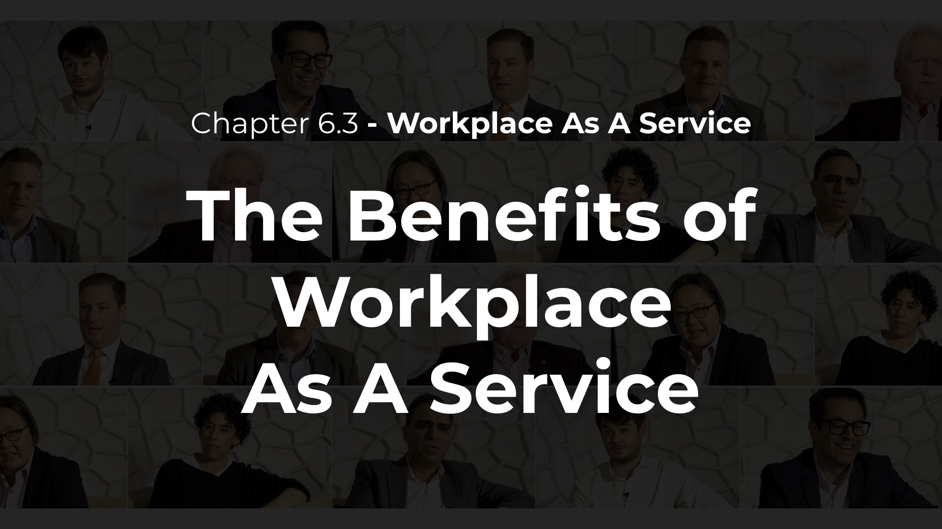 6.3 - The Benefits of Workplace As A Service