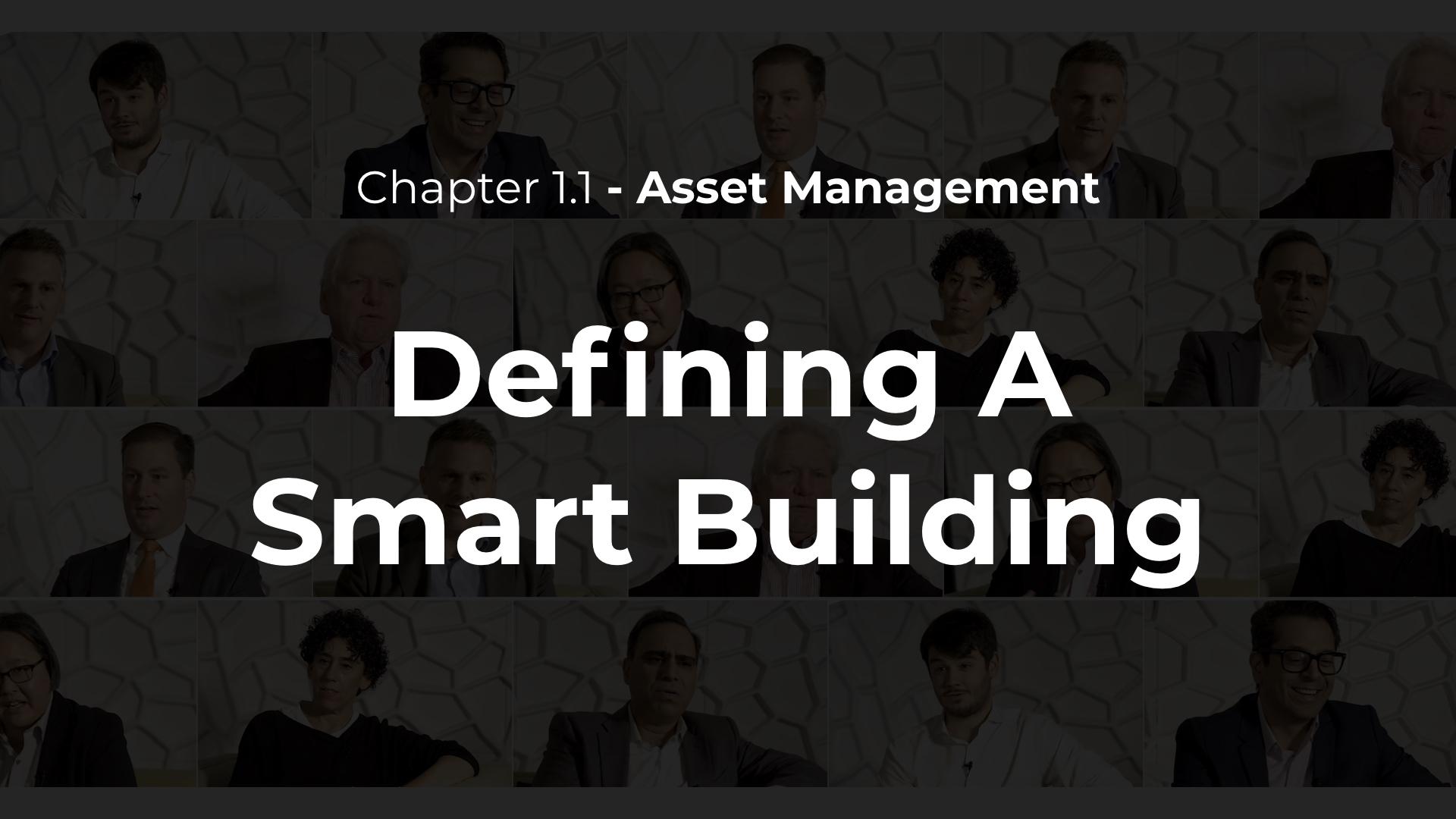 1.1 - Defining A Smart Building
