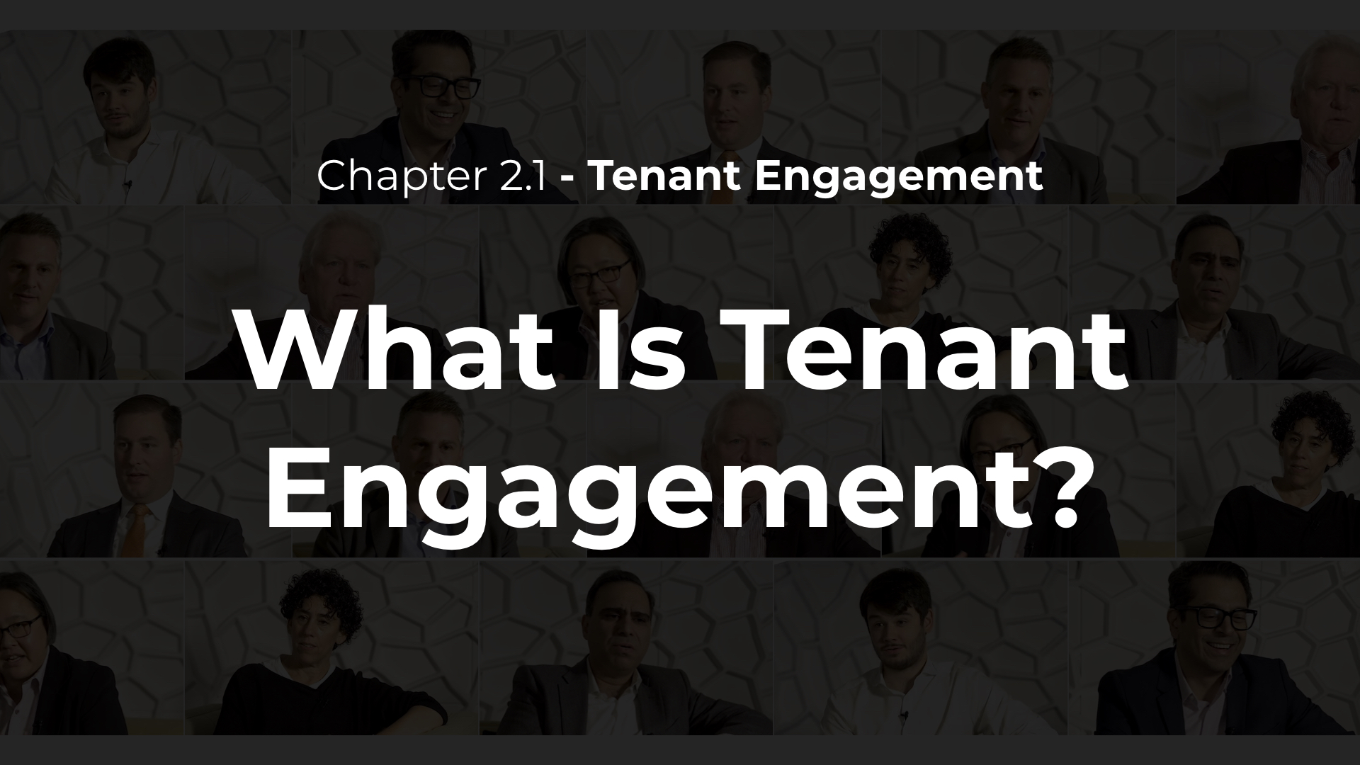 2.1 - What Is Tenant Engagement?