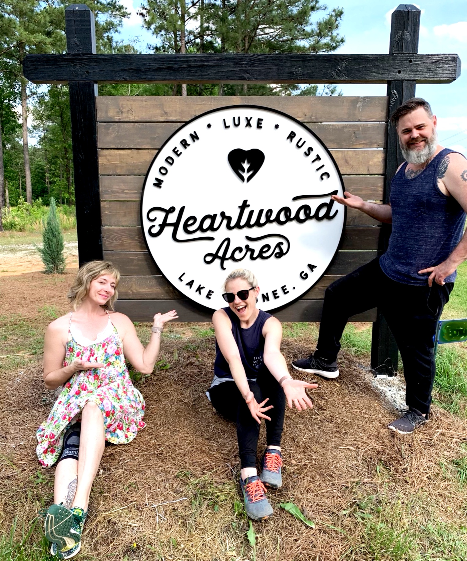 We are Cregg, Lauren, and Micah, aka Heartwood Group.