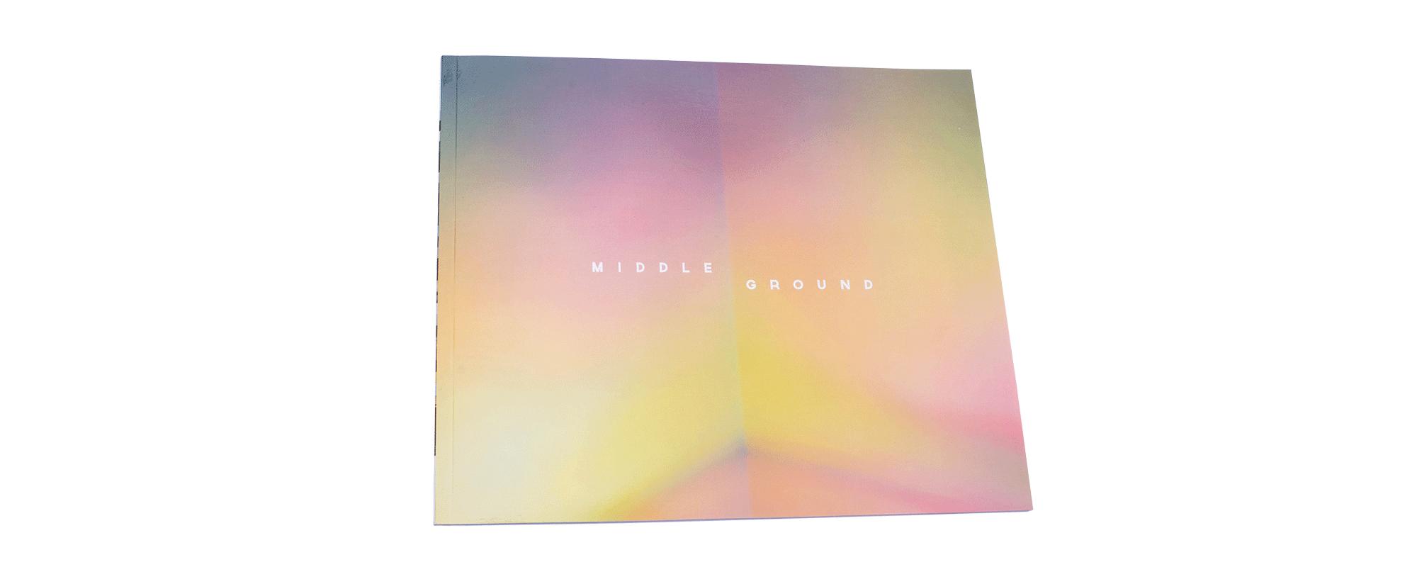 Middle Ground Collaborative Photo Book Cover Design - Loren Marple