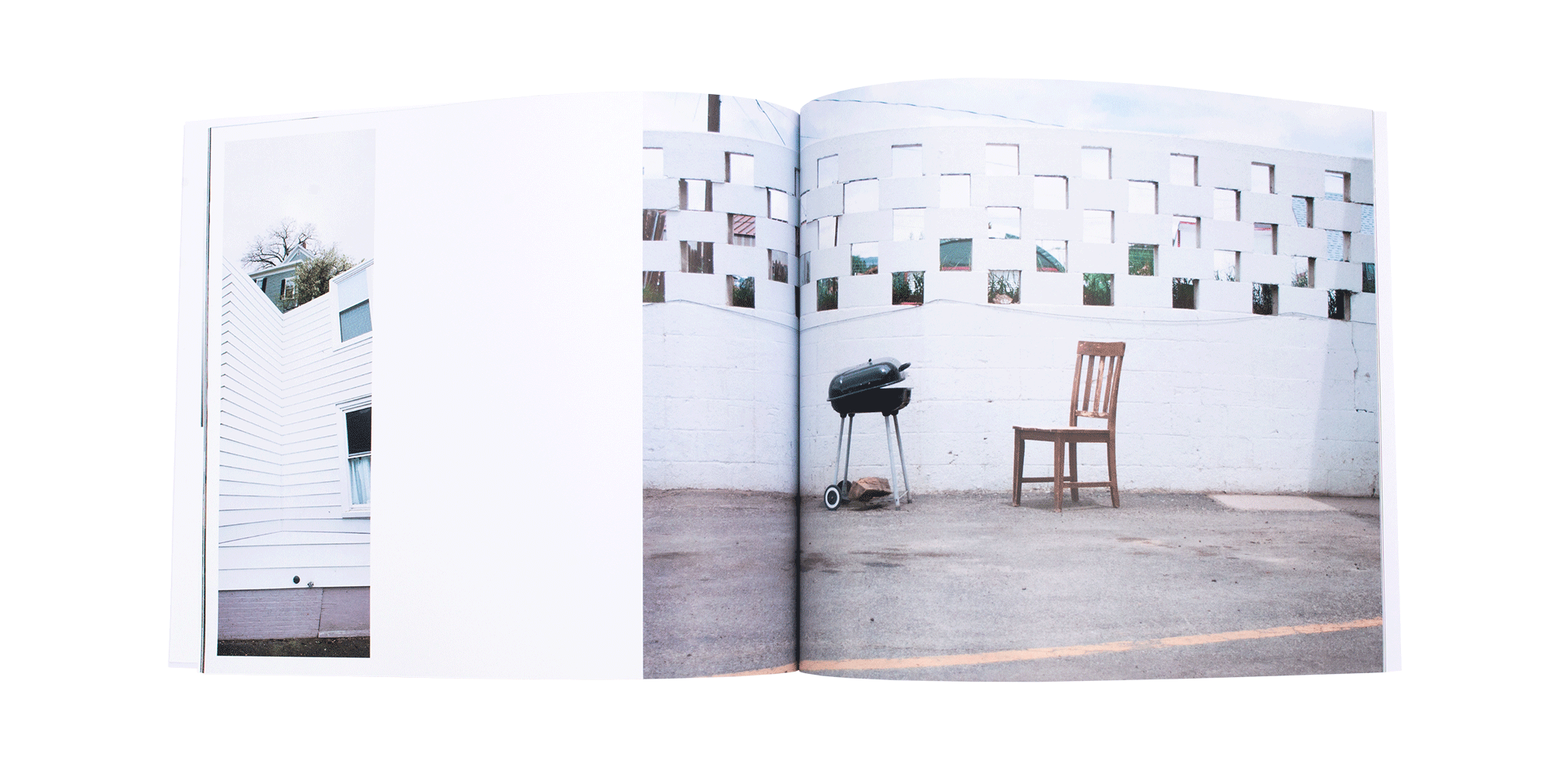 Middle Ground Collaborative Photo Book Spread 1 Design and Photography - Loren Marple